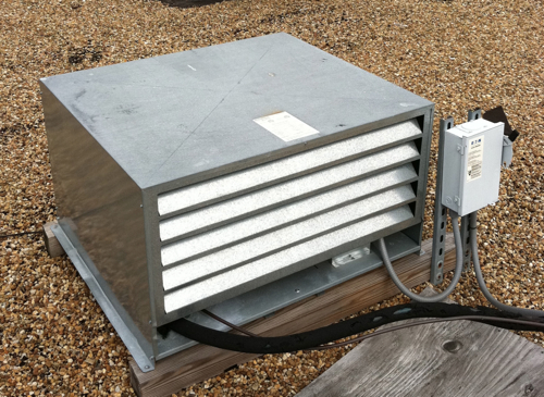 Harford Duracool walk-in refrigerator condenser unit